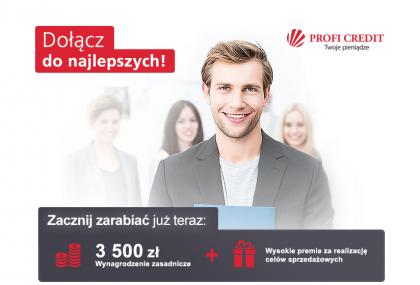Kierownik grupy srzedażowej Szczecin